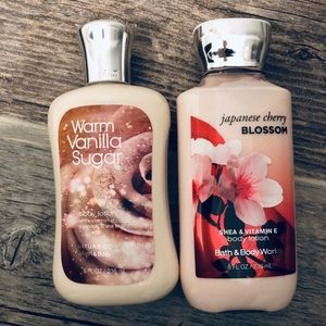 Bath & Body Works Combo pack of lotion